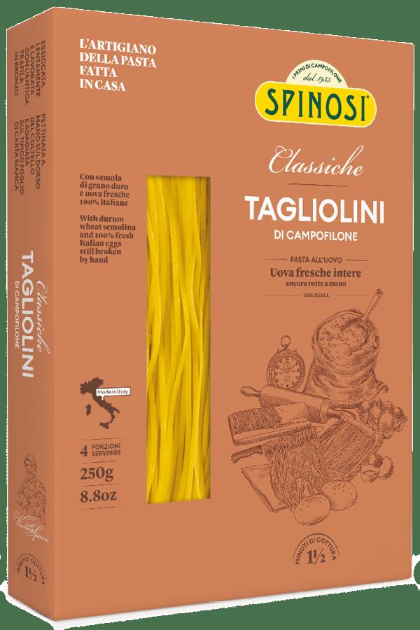 Tagliolini uovo 250gr Spinosi