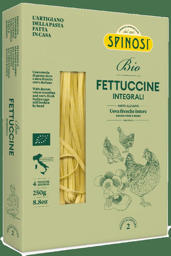 Fettuccine uovo BIO integrali 250gr Spinosi