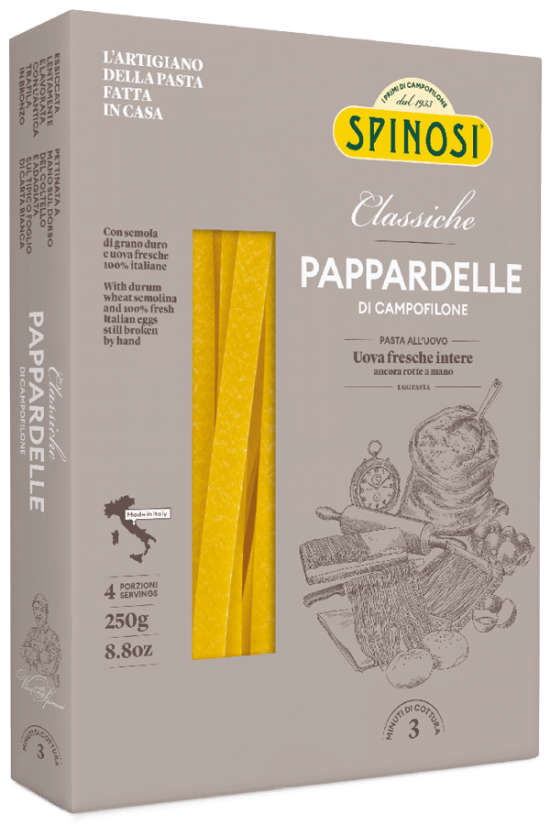 Pappardelle uovo 250gr Spinosi